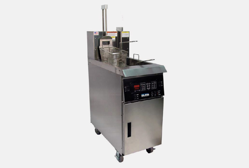 Friteuse électrique avec système de filtration