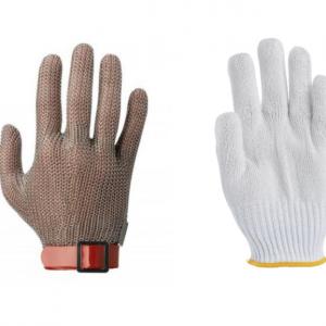 Gants de protection et gants de boucher